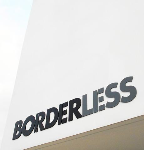 BORDERLESSのイメージ